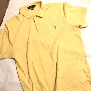 Yellow polo Ralph Lauren polo size 2 XL